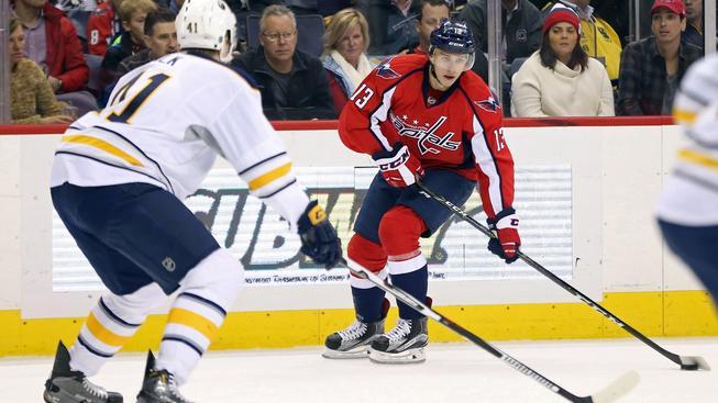 Český forvard Jakub Vrána vstřelil v NHL svoji první branku