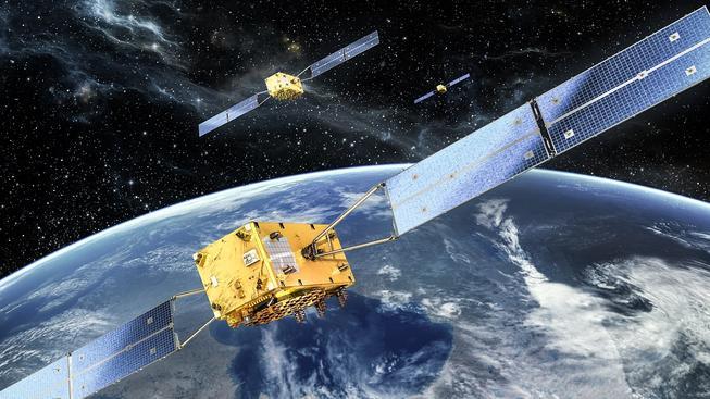 Celkem bude systém Galileo tvořit 24 družic