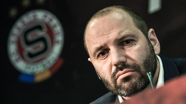 Nový hlavní trenér fotbalistů Sparty, tedy alespoň papírově, Tomáš Požár