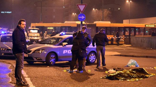 Tunisana Anise Amriho zastřelila policie při přestřelce v Miláně
