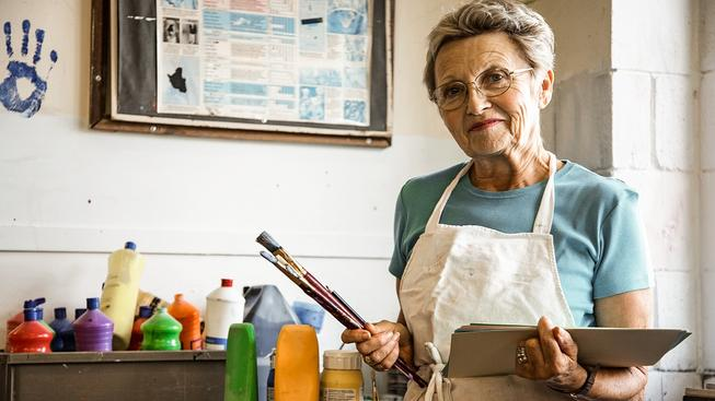 S věkem sice roste roztržitost, ale i kreativita. Ilustrační foto