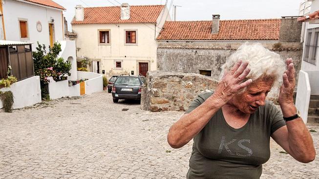 Portugalské město Sintra. Ilustrační snímek