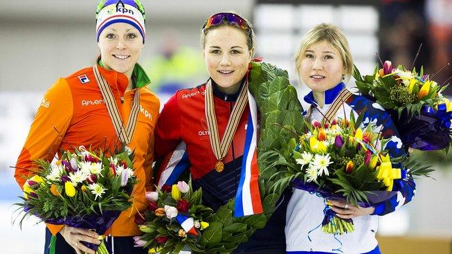 Zlatá Karolína Erbanová dosáhla v Heerenveenu nejlepšího výsledku v kariéře