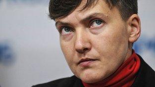Ukrajinská vojačka a dnes už i politička Naděžda Savčenková