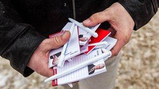 Zemanova prezidentská kampaň. Ilustrační snímek