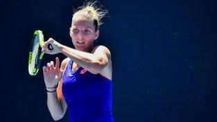 Tenistka Kristýna Plíšková postoupila na Australian Open do třetího kola
