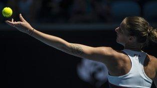 Karolína Plíšková postoupila s přehledem do třetího kola Australian Open