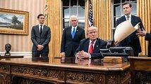 Trump složil přísahu. Stal se 45. americkým prezidentem a podepsal první zákony