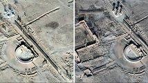 Historická Palmýra opět trpí. Vrátili se do ní islamisté a pokračují v ničení památek