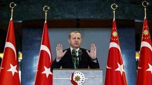 Turecký vůdce Erdogan