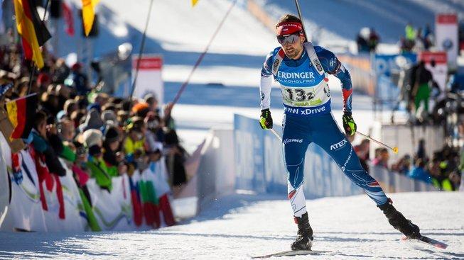 Biatlonista Tomáš Krupčík výsledkově táhne český tým