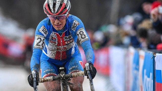 Cyklokrosařka Kateřina Nash vybojovala svoji druhou bronzovou medaili na MS