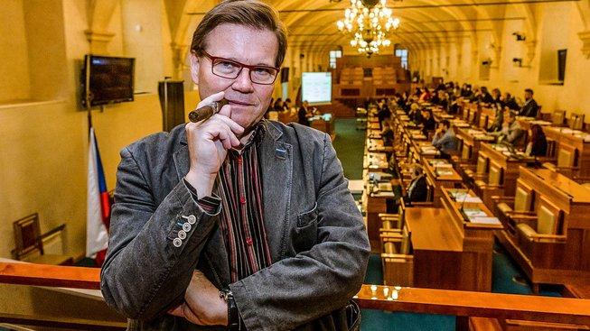 Zdeněk Škromach a jeho poslední den v senátu