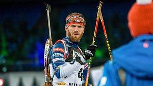 Český biatlonista Michal Šlesinger byl jedním z hlavních kritiků konání světové šampionátu v Rusku