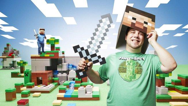 Minecraftu pochopitelně nepropadají jen děti, milují ho i dospělí hráči