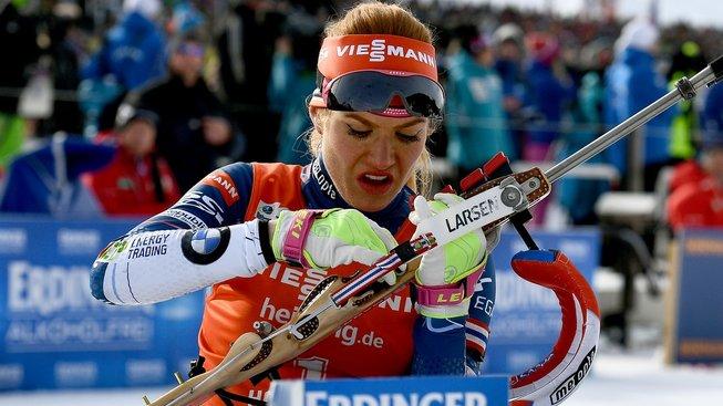 Gabriela Koukalová získala na MS svoji už druhou medaili