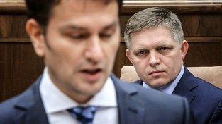 Igor Matovič a Robert Fico
