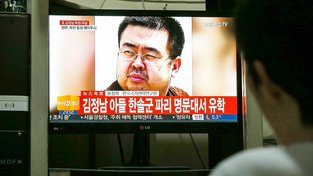 Jihokorejská média informují o vraždě Kim Čong-nama