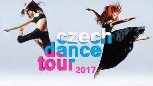 Přemýšlíte, že začnete tančit? Přijďte na Czech Dance Tour a zkuste to!