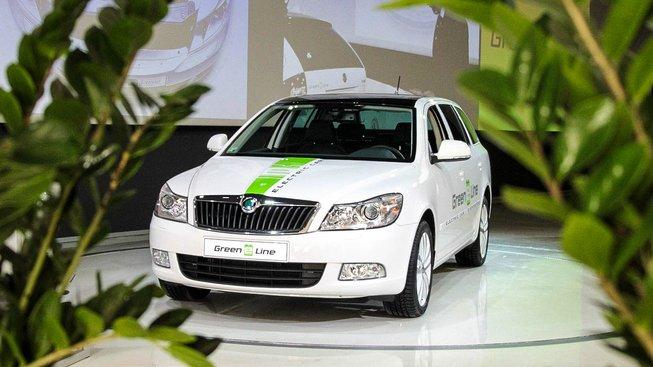 Elektromobil Octavia Green E Line