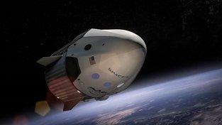 Soukromá společnost Space X vyšle k Měsíci dva lidi. Ilustrační snímek