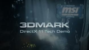3D Mark Directx 11 Tech Demo - video