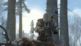 Assassin's Creed III - komentované záběry z akce v zimní krajině