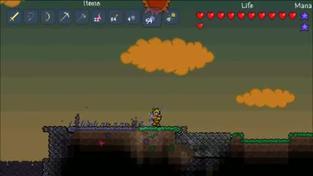 Terraria - ukázka ze hry