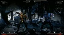 Mortal Kombat X - záběry ze hry (Scorpion/Sub Zero/Raiden/Kano)