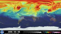 NASA: Jak oxid uhličitý putuje zemskou atmosférou?