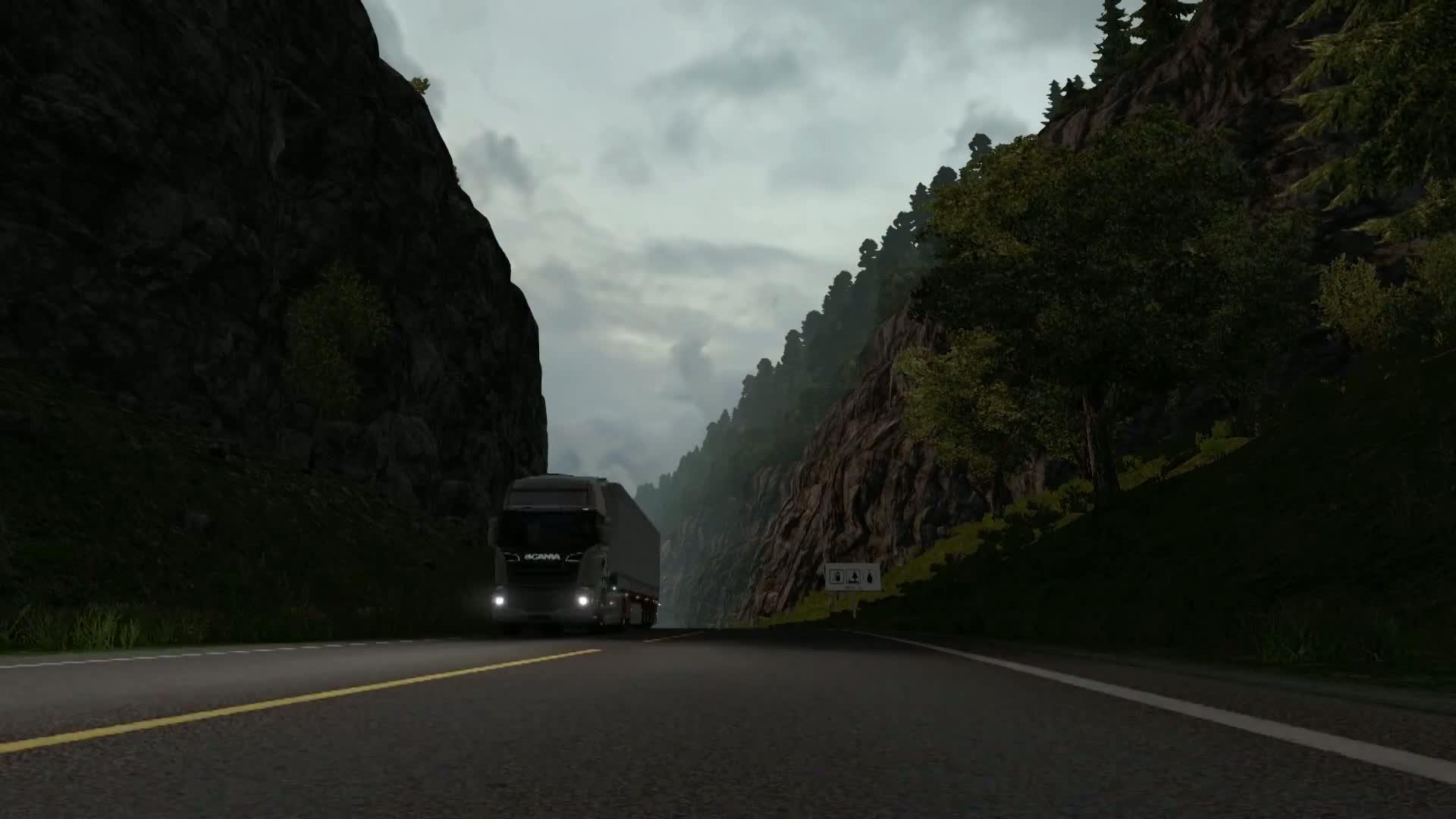 euro truck simulator 2 scandinavia trailer. Black Bedroom Furniture Sets. Home Design Ideas
