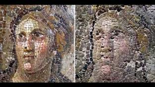 Restaurátoři zfušovali opravu římských mozaik