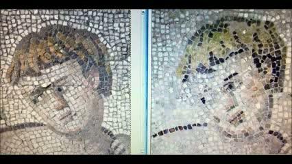 Nepovedená oprava mozaik