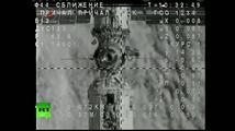 Přistání Sojuzu s prvním dánským astronautem na ISS