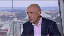Otázky Václava Moravce přerušil test evakuačního systému