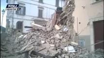 Zemětřesení zničilo italské městečko Arquata del Tronto