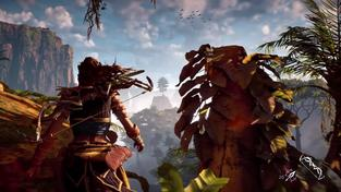 Horizon Zero Dawn – PS4 Pro gameplay trailer