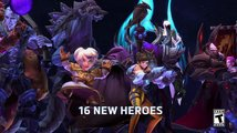 Heroes of the Storm - rekapitulace roku 2016