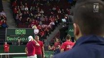 Kanadský tenista vzteky zasáhl sudího do tváře