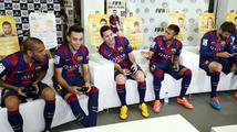 Hvězdy světového fotbalu si zahrály FIFA 15