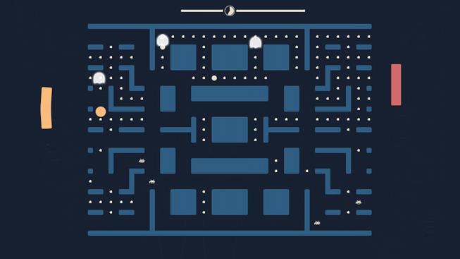 Co vznikne, když se zkříží Pong, Pac-Man a Space Invaders?