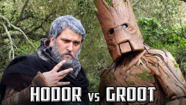 Hodor nebo Groot? Kdo by vyhrál souboj v rapu?!