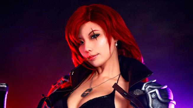 Páteční cosplay - Katarina z League of Legends