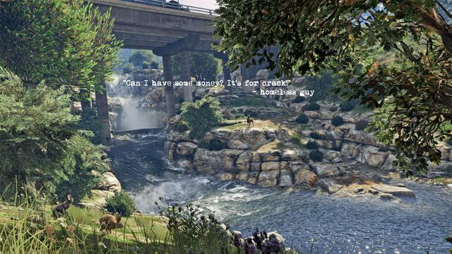 GALERIE: Motivační plakáty z Grand Theft Auto V na vaší plochu