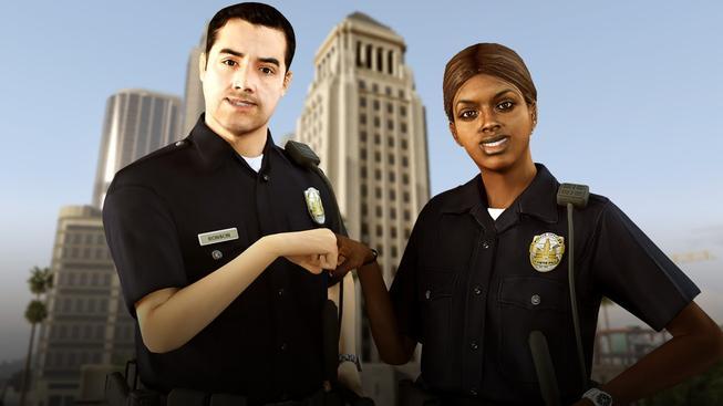 Policejní brutalita Grand Theft Auto v gifech!