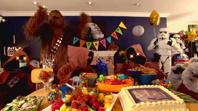 Tipy na Star Wars party