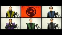 Znělka k Mortal Kombat bez hudebních nástrojů