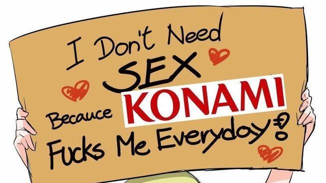Prů*ery Konami z poslední doby – pěkně na jednom místě