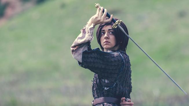 Sobotní cosplay: Arya Stark z Game of Thrones