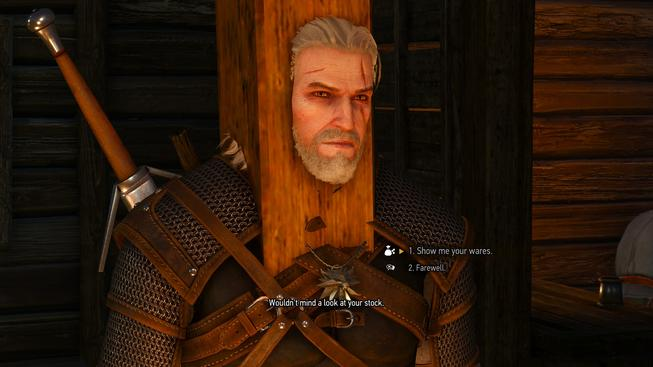 witcher humor